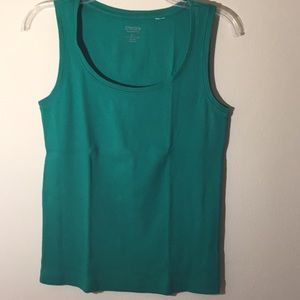 🔷Chico's🔷 Green Tank Top - Size 1🔷